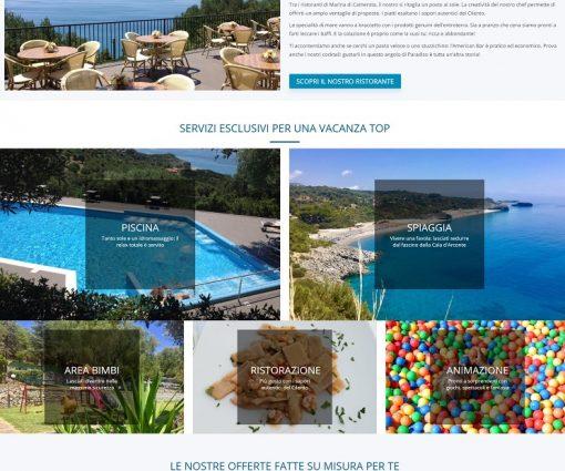 Villaggio Turistico La Fenosa </br> Marina di Camerota